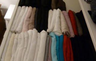 Ordning i klädlådan