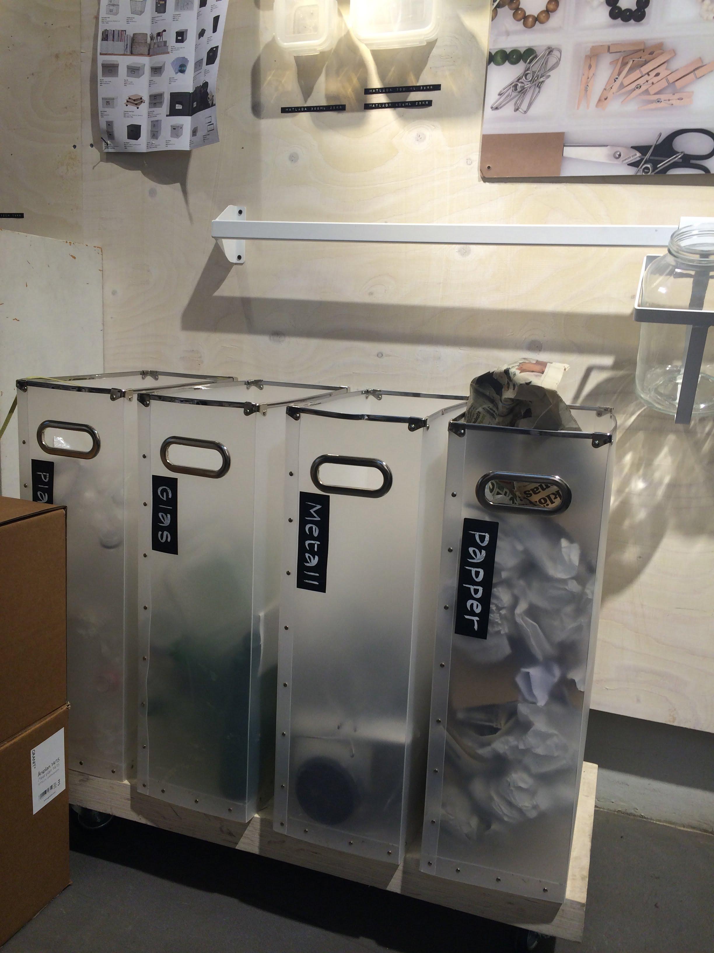 Omtalade Utrymmeseffektiva behållare för återvinning | Keep it Smpl™ PD-35