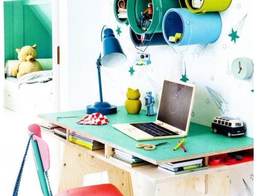 5 funktionella skrivbord för barn