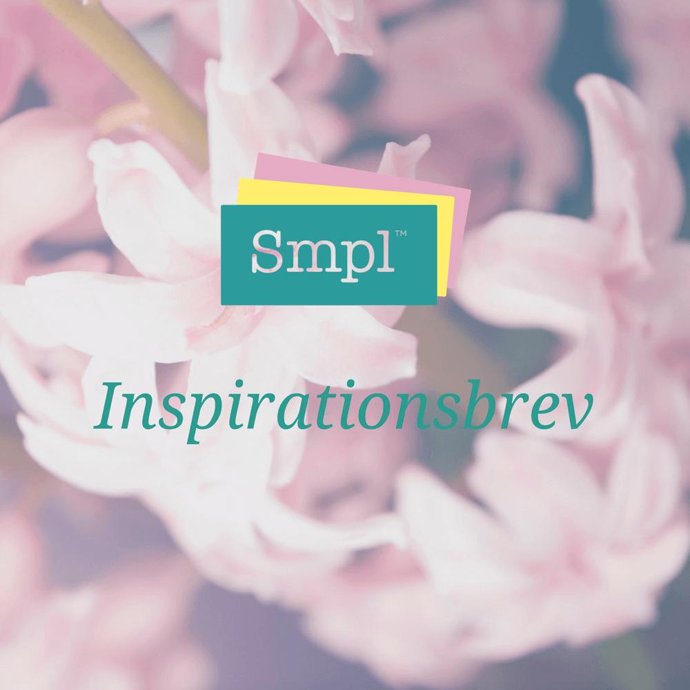 Inspirationsbrev från Smpl