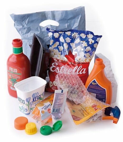 Källsortera plastförpackningar