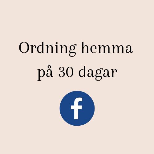 Ordning hemma på 30 dagar, Smpl forum på Facebook