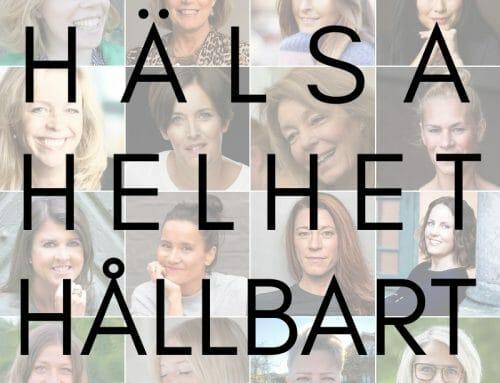Inbjudan till HÄLSA • HELHET • HÅLLBART 2-4 april
