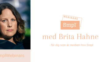 Webinars med Brita Hahne