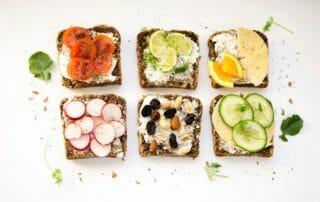 Smörgås som mellanmål