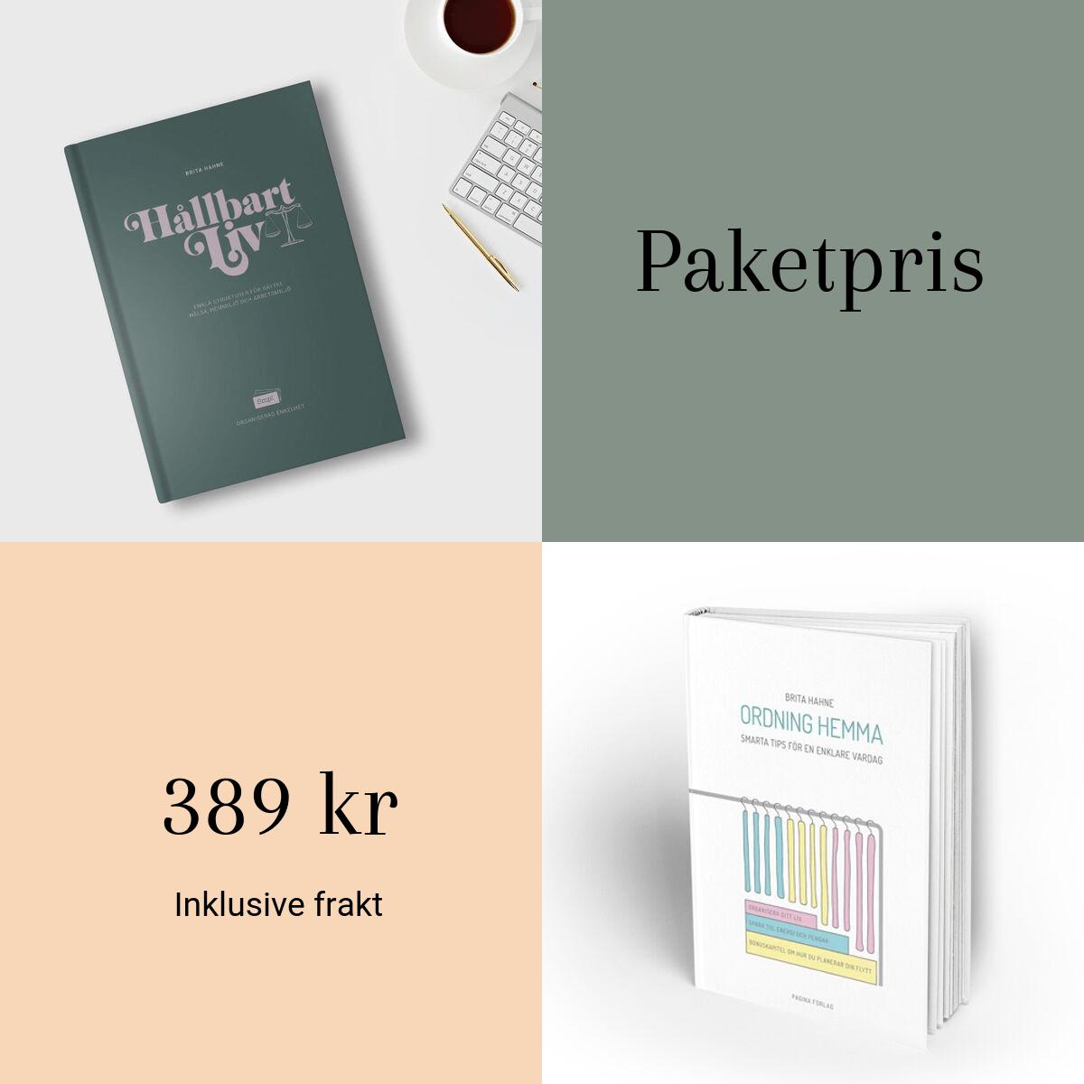 Paketpris för böcker