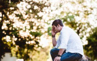 Man under stress